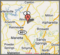 Our service area includes  Marietta,Kennesaw,Roswell,Alpharetta and Sandy Springs as shown on google map.